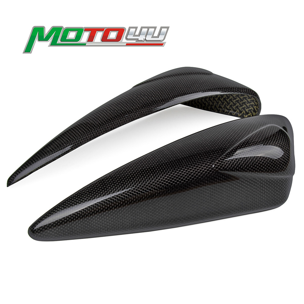 For TRIUMPH Daytona 675 2006-2012 Carbon Fiber Tank Sliders Protectors