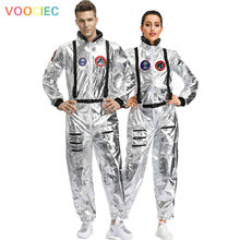 M-XL Halloween Couple Wandering Earth Same Space Costume Men Women Astronaut Stage Costume(China)