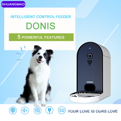 Mobile Smart Automatic Pet Cat Dog Feeder Bowl 6l Remote Feeding Intelligent Electric Usb Take Picture Video Observation Product