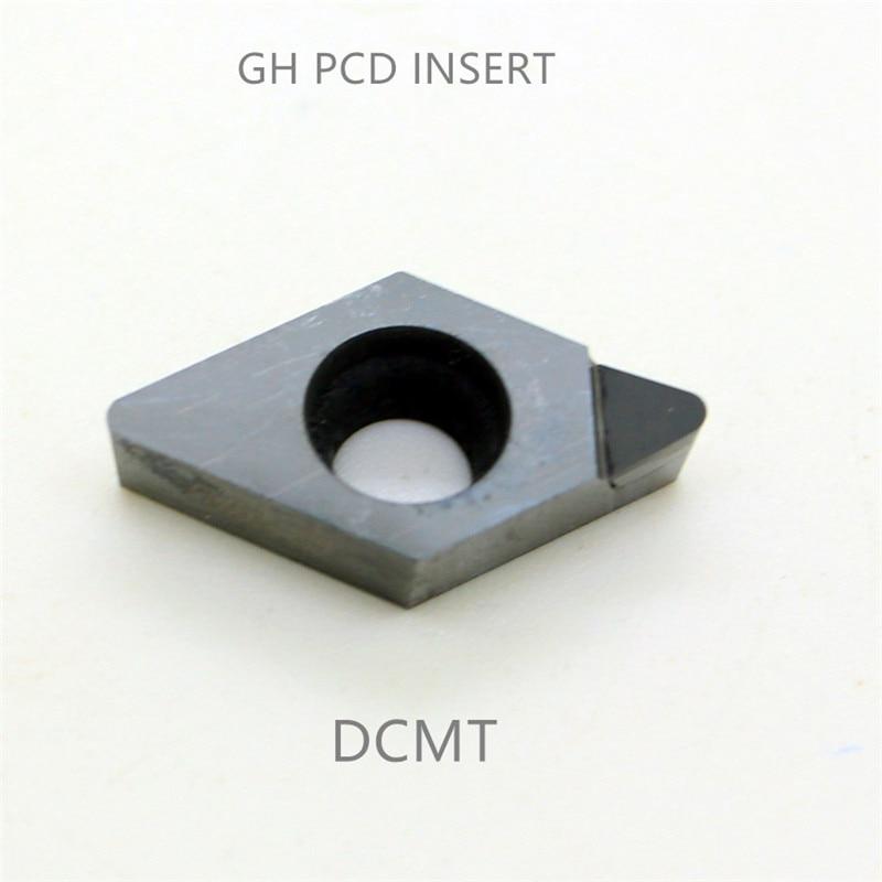 Алмазный токарный станок PCD CBN cnc с индексируемой вставкой DCMT070204 DCMW070202 DCGT11T302 токарный инструмент 1 шт.