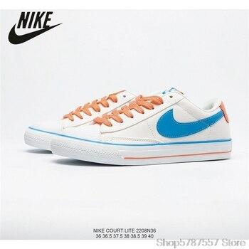 Nike Court Lite Wmns Trailblazer SB low-top con cordones, zapato de lona para parejas, campus, talla 36-40