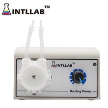 INTLLAB Dosierung Pumpe für Aquarium Lab Wasser Analytische Schlauchpumpe Flüssigkeit