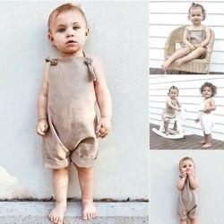 Комбинезон для новорожденных, без рукавов, на возраст 0-3 года