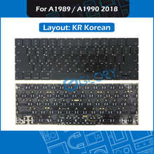 New A1989 A1990 KR Korean keyboard For Macbook Pro Retina 13″ 15″ Mid 2018 Korea Keyboard Replacement