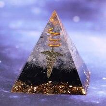 El yapımı ametist kristal küre orgonit piramidi çilek kristal Reiki çakra enerji orgon koleksiyonu Emf koruma