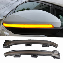 Retrofitting LED Turn Signal Light For Volkswagen VW Golf MK7 7 GTI R Rline GTD 2013 2014 2015 2016 2017 Repeater Light brand new 1 pcs left led dark red tail lamp suitable for vw volkswagen golf gti r mk7 2013 2016 5g0 945 207 5g0945207 oem