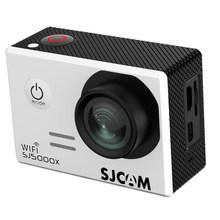 SJCAM SJ5000X Waterproof 12MP 4K WIFI Video DV Action Sport Camera CMOS 2-inch LCD Dual Display White(China)