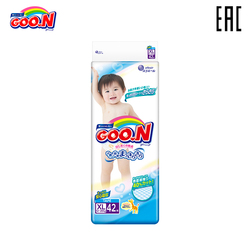 Diapers GOON Boys and Girls 12-20 kg (42 PCs) XL