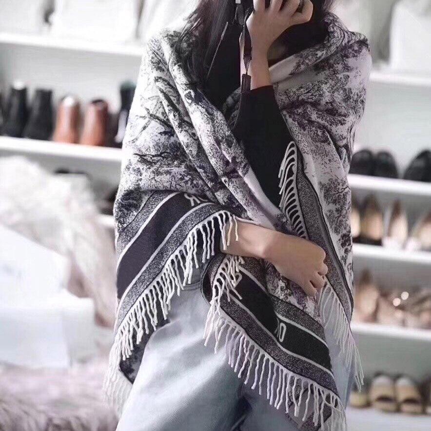180*70 см кашемировый длинный шарф для женщин лес шаль 2021 осень зима бренд