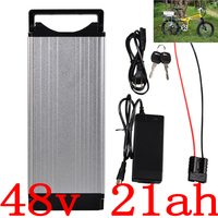 48V electric bicycle battery 48V 15AH 20AH Lithium battery 48V 24AH 1000W 2000W electric scooter battery+Double Layer Luggage