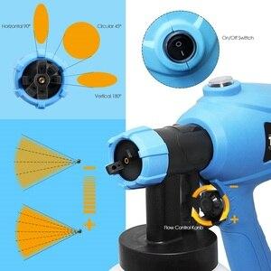 Image 3 - Tasp電気スプレーガン 400 ワットhvlpペイント噴霧器コンプレッサーフロー制御エアブラシ電源ツール簡単噴霧 & クリーン 120v/230v