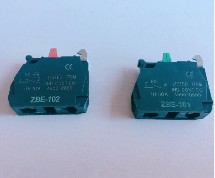 20 x  TELEMECANIQUE ZB2-BE101C NC CONTACT BLOCK REPLACES TELE 10A 400V NEW