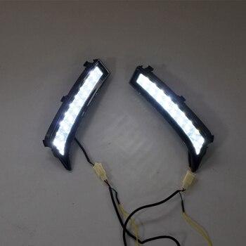 LED DRL Daytime Running Light Fog Lamp 12V Car Running Lights for Subaru Forester 2013 2014 2015 2016