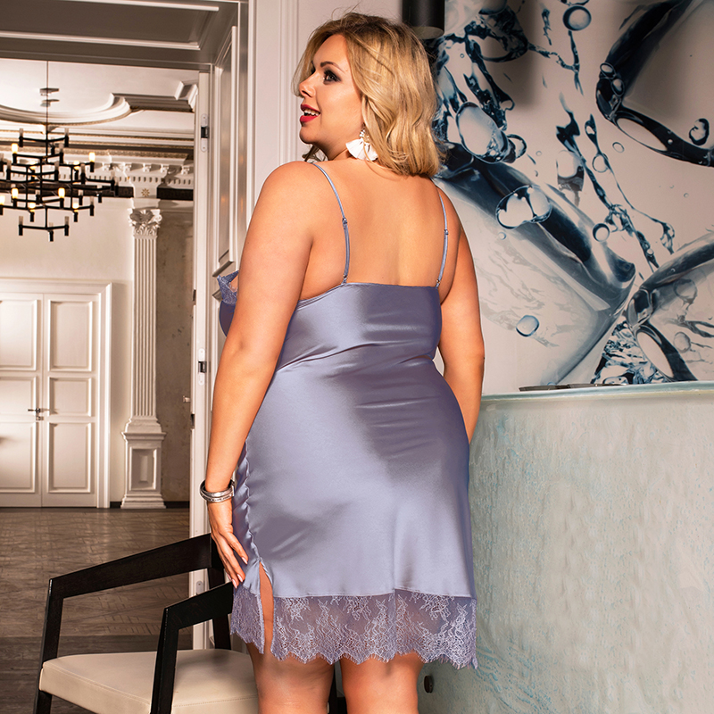 Soft Women's Night Dress in Plus Size