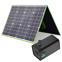 XINPUGAUNG 100W SOLAR PANEL With 54600mah Generator USB DC output AC 110V 220V 200W Inverter Portable Solar Energy Storage