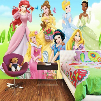 Milofi custom 3D mural wallpaper 3D cartoon pink princess room girl bedroom living room background wall decoration painting wall custom 3d mural children room wallpaper bedroom background wall mural cartoon candy cake shop wallpaper mural