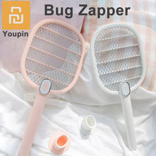 Original Youpin Bug Zapper Electric Fly Swatter with 3 Powerful 3,000 Volt Grid Layers and Safe To Touch 2 Indicator Colors