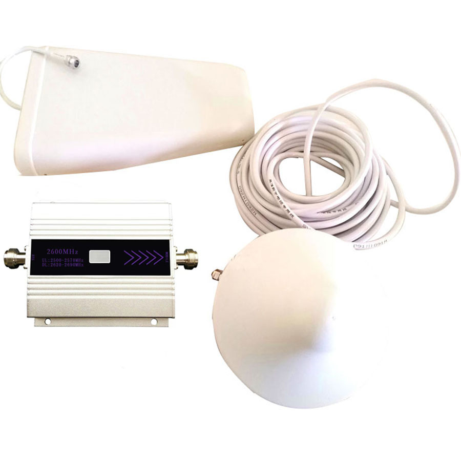 NEW VOTK 4G SIGNAL Booster 2600mhz FDD Network Signal Repeater Mobile Phone 4G Amplifier With LCD Display Full Set