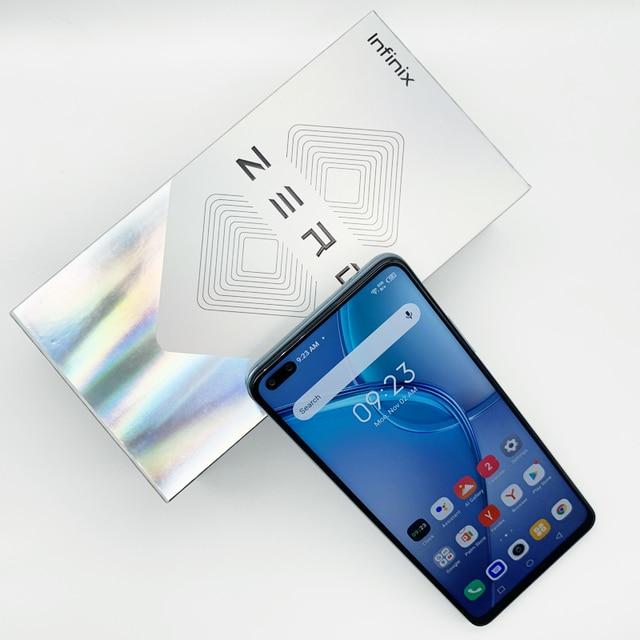 New Global Version Infinix Zero 8 8GB 128GB Smart Phone 6.85'' FHD 90Hz Full Screen 64MP Quad Camera 4500mAh Battery 33W Charger 5