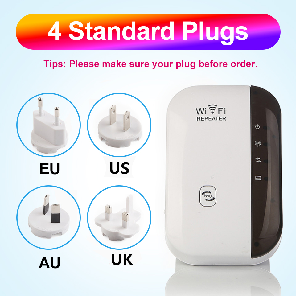 Wireless WiFi Repeater Wifi Extender 300Mbps WiFi Amplifier 802.11N Wi Fi Booster Long Range Repiter Wi-fi Repeater Access Point 5