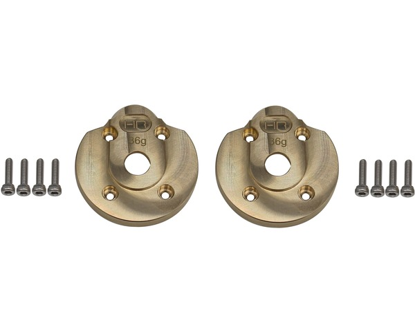 KYX Universal Front Rear Steering Knuckle Cap Brass Axle Covers für Modell Auto
