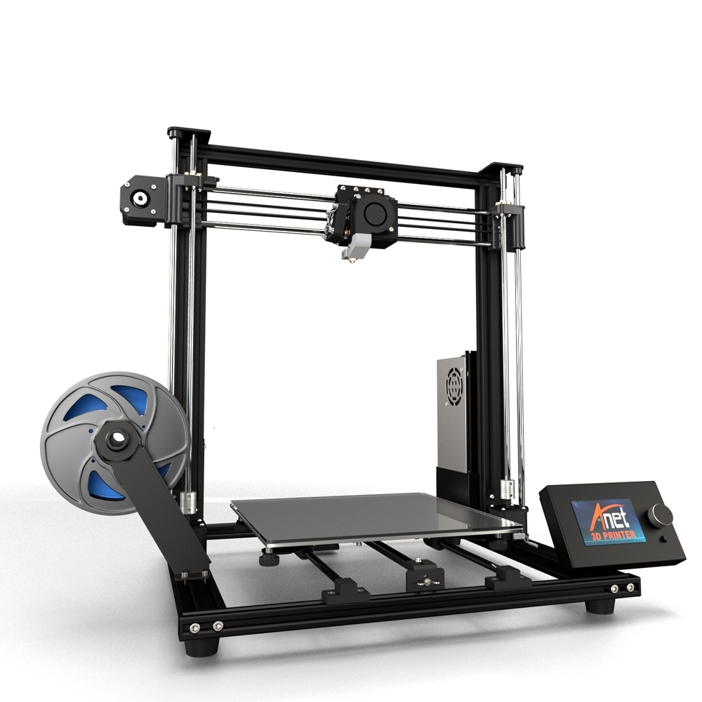 ANET A8 Plus 3D Printer with Large Printing Area/Offline Printing and Auto Leveling Sensor