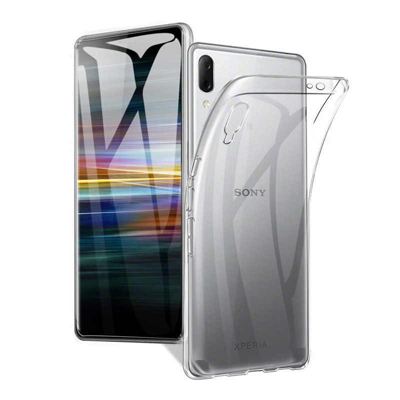 Cherie etui na telefon do sony xperia xz premium 10 XA1 Plus XA XA1 XA2 XA3 Ultra XZ1 XZ2 XZ3 XZ4 kompaktowy L1 L2 pokrywa miękkie etui tpu
