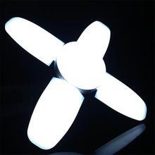60 Вт Светодиодный светильник для гаража E27 красочный потолочный светильник для мастерской s светильник деформируемая лампа Lampen Industrieel AC 85-265V