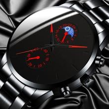 reloj hombre Luxury Fashion Business Men Watches Classic Bla