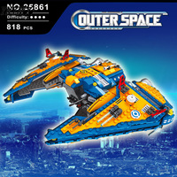 building construction Toy Ausini Star Wars Outer Space Ship Building Blocks Compatible legoings Toys For Children Boy Gifts