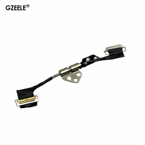 "GZEELE New For MacBook Pro Retina A1398 LCD screen Display LVDS Flex Cable + Hinge 15"" 2012 2013 2014 2015 A1398 A1425 A1502(China)"