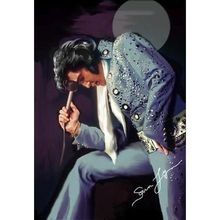 5d Diy Diamond Painting Elvis Presley Guitar Full Square/ Round Mosaic New 3d Embroidery Decoration