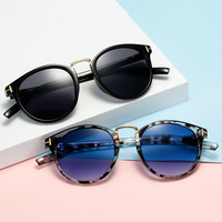 tom ford  TF sunglasses women men 2019 yellow blue leopard trendy beach glasses oculos de sol feminino