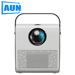 AUN MINI Projector AKEY7 Young, 2800 lumens 1280*720P, Multimedia player system LED Proyector for Full HD 1080P 3D Video Beamer