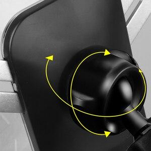 Image 5 - Auto Handy Halter Halterungen Stehen GPS Halterung Telefon Schwerkraft Navigation Halterung Für Geely Atlas 2015 2020 Auto Zubehör