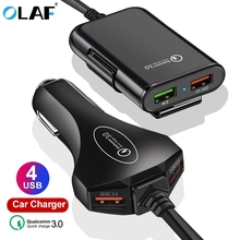 4 USB Port Car Charger Quick Charge 3.0 Car
