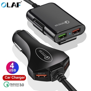 4 USB Port Car Charger Quick C