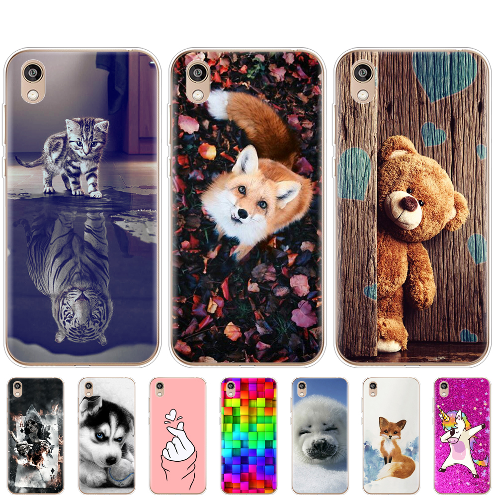 Silicon Case On Honor 8S Case Soft TPU Phone For Huawei Honor 8S KSE-LX9 Honor8S 8 S Back Cover 5.71'' Protective Coque Bumper