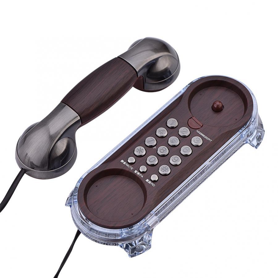 Teléfono antiguo Retro de teléfono Landine, teléfono colgante de moda, llamada de llamada, teléfono montado en la pared, teléfonos de escritorio para la oficina en casa|Teléfonos|   - AliExpress