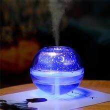New mini USB colorful crystal night light dream humidifier air purification aroma diffuser humidificador oil