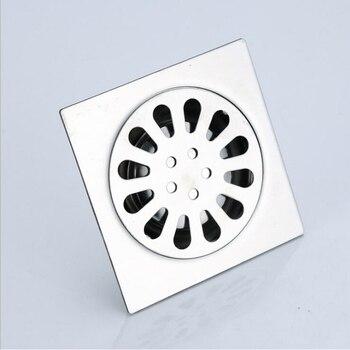 Dofaso floor shower drain waste 20/15/10cm big Floor Drain Insert Shower Drain  304 Stainless steel kitchen drain
