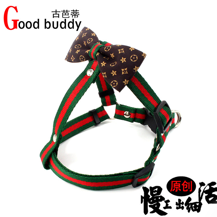 Export Pet's Chest-back Tensile Release Buckle Dog Hand Holding Rope Nylon Small And Medium-sized Dogs Vest Style Dog