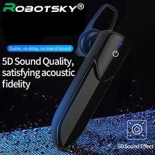 V19 bluetooth fones de ouvido sem fio mini estéreo ruído conceling handsfree com microfone fones para ios android 1pc