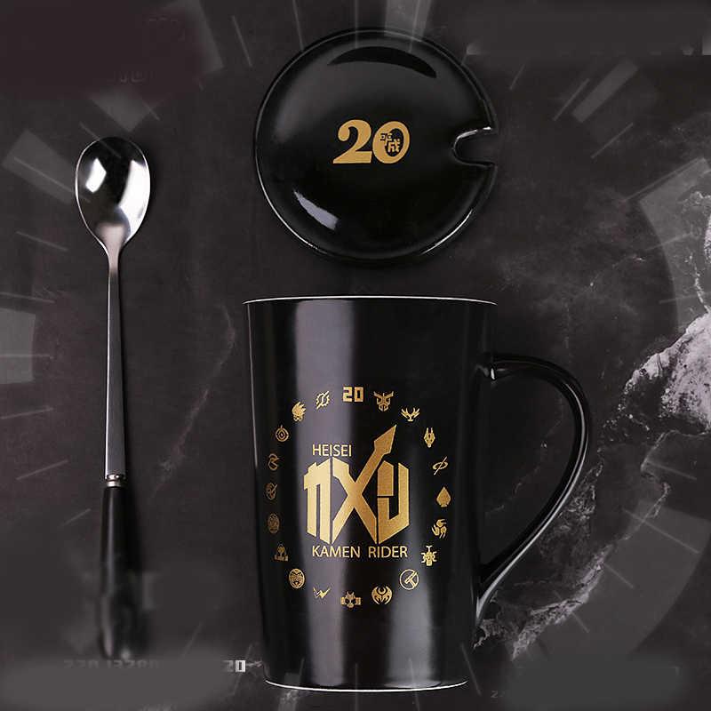 1 Pcs Anime Kamen Rider 20th Anniversary Ceramica Tazza Tazza di Latte Tazza di Tè Cosplay Prop Complementi Arredo Casa per Il Ragazzo Della Ragazza Nuovo Anno regalo