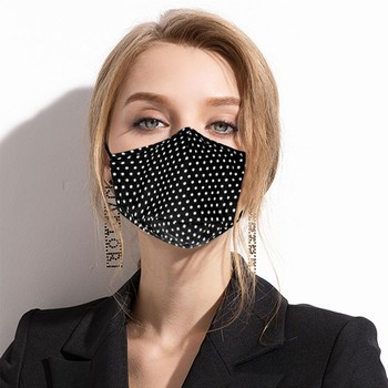 Unisex Washable Reusable Mouth Mask Dots Camouflage Print Face Mask Warm Windproof Cotton Face Product Mascarillas New Маска