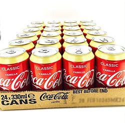 24x Coca Cola Cola Alla Vaniglia - 330 ml