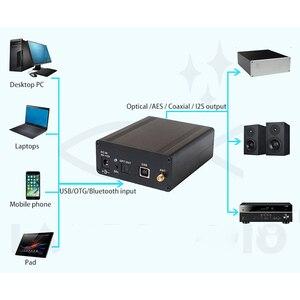 Image 4 - บลูทูธ 5.0 ไร้สายรับอะแดปเตอร์อินเทอร์เฟซ USB ดิจิตอล AES Optical Coaxial HDMI I2S รองรับ AptX HD