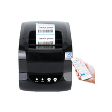 365B barcode thermal printer clothing tag price QR code sticker label printer receipt label dual mode USB bluetooth printer wholesale high quality label sticker receipt printer barcode qr code pos printer support 80mm width print speed very fast