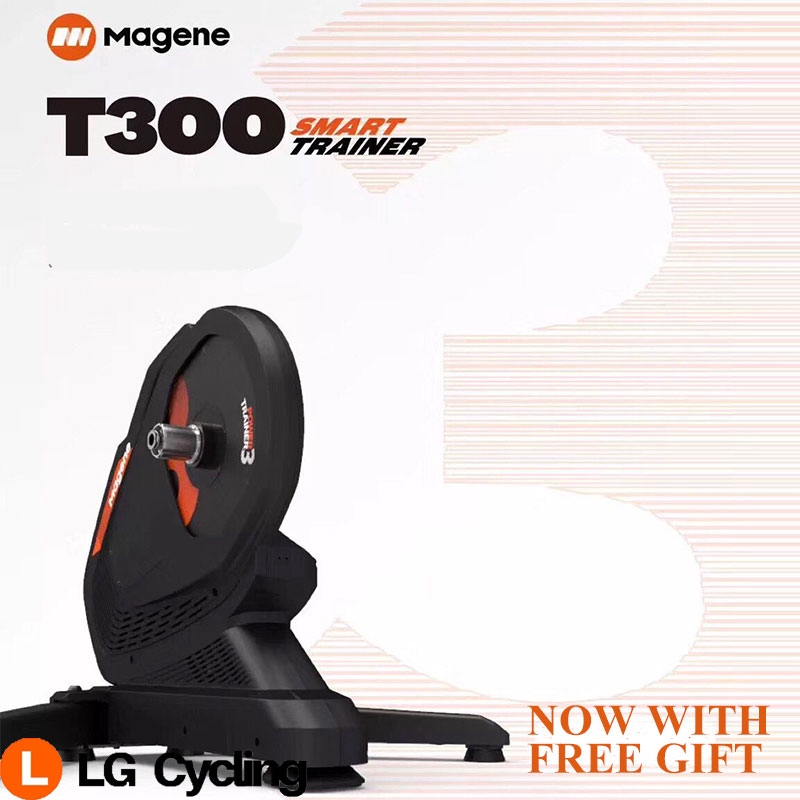 Magene Smart Trainer Gravat T300 Indoor Power Smart Trainer Direct Drive Ultra Silence OneLap With Free Gift