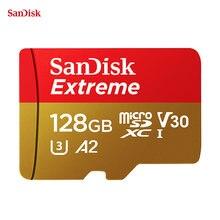 SanDisk – carte Micro SD Extreme A2 U3 V30, 32 go/64 go/512 go/256 go/1 to, sdhc/microSDXC, TF, mémoire Flash